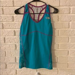 North Face athletic tank